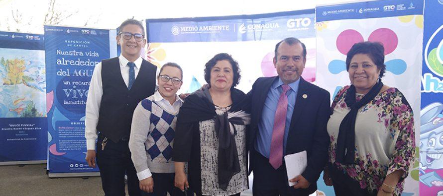 En Guanajuato, promueven la cultura del agua en estudiantes