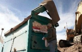 Frenan actividades de extracción ilegal de material pétreo en Durango