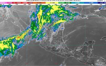 ¡Sigue la lluvia! Muy fuertes para Coahuila, Nuevo León y Tamaulipas, con posibles tornados