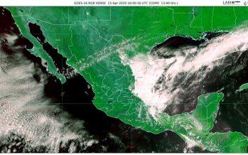Evento de norte con rachas de 60 a 70 km/h en el litoral de Tamaulipas y Veracruz; temperaturas mayores a 35 °C en 17 estados