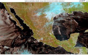 ¡Aguas! Lluvias y chubascos para las zonas noreste, oriente, centro y sureste de México