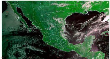 Lluvias fuertes, descargas eléctricas y granizo en Hidalgo, Puebla, Tlaxcala y Veracruz