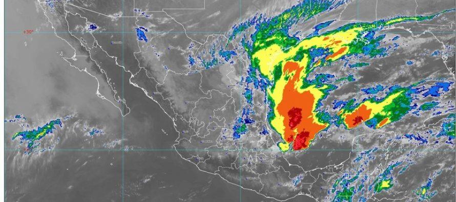Lluvias en Nuevo León, Tamaulipas, Puebla y Veracruz; posibles ...