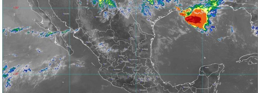 Lluvia, granizo y posibles tornados en Coahuila, Nuevo León y Tamaulipas