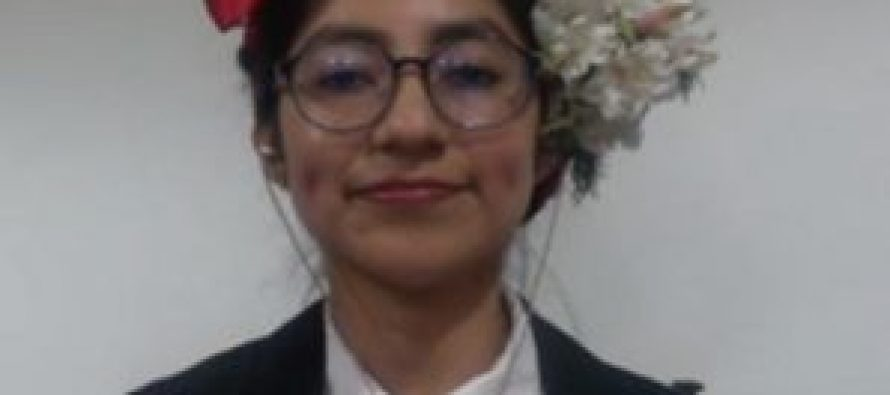 Elia Edith López Luiz de Ecosur San Cristóbal se gradúa con investigación de parques eólicos instalados en Oaxaca