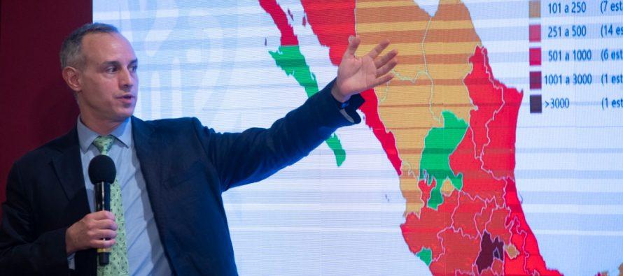 Secretaría de Salud de México: 81,400 casos y 9,044 defunciones por COVID-19 (28 de mayo de 2020)