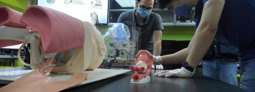 Construyen respirador para pacientes con COVID-19, investigadores de la UAS