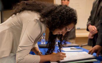 Aprueba el CICESE primer examen virtual para obtener grado académico; Alma Celeste Castañeda Leautaud es pionera