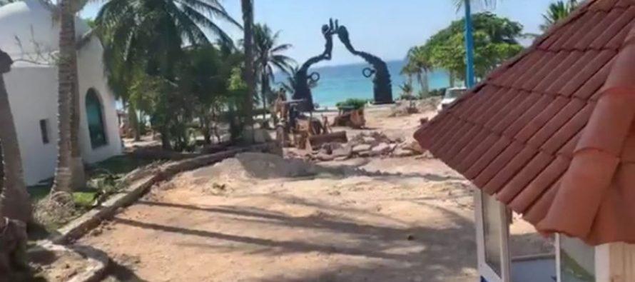 ¡Clausurado por la comunidad! Realizan clausura simbólica de remodelación de Parque Fundadores en Playa del Carmen
