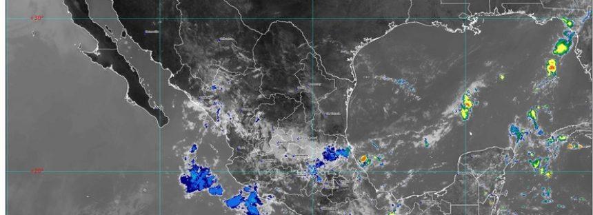 ¡Siguen las lluvias! Con agua: Chiapas, Oaxaca, Puebla, Tabasco y Veracruz