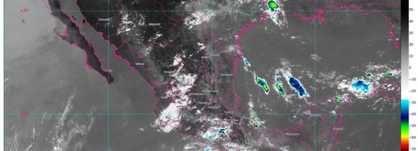 Onda Tropical 6 y canal de baja presión provocarán lluvias intensas en Oaxaca y sur de Veracruz