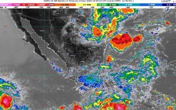 Persisten lluvias intensas en Guerrero, Guanajuato, Michoacán, Oaxaca, Puebla y Veracruz