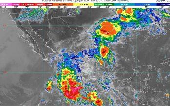 Lluvias intensas con descargas eléctricas y granizo en Guanajuato, Michoacán, Puebla, Querétaro y Veracruz
