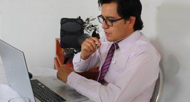 Vía remota, el ecuatoriano Ismael Fabián Soria Reinoso se tituló del Posgrado de Ciencias del Mar y Limnología (UNAM)