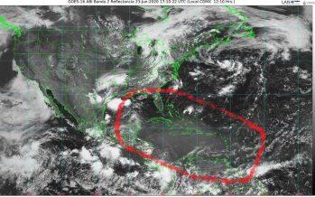 Una nube de polvo del Sahara afecta hoy la Península de Yucatán y en la semana toda la vertiente del Golfo de México