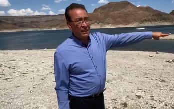 El diputado Mario Mata denuncia ecocidio en la presa El Granero, en Chihuahua, por uso de agua para pago de deuda con EUA