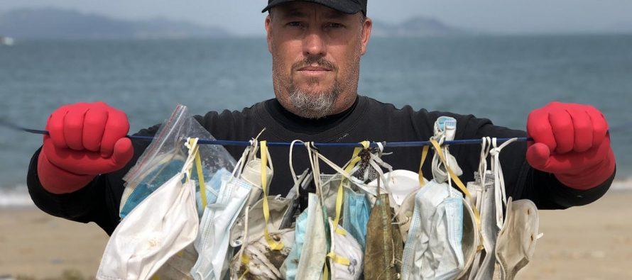 La otra marea roja: la contaminación por plásticos a causa de la Covid-19, provoca daños a la economía y la naturaleza