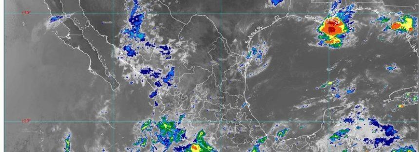 ¡Caliente México! Temperaturas de más de 35 ° C; lluvias en Chiapas, Chihuahua, Durango, Guerrero, Oaxaca, Sinaloa y Sonora