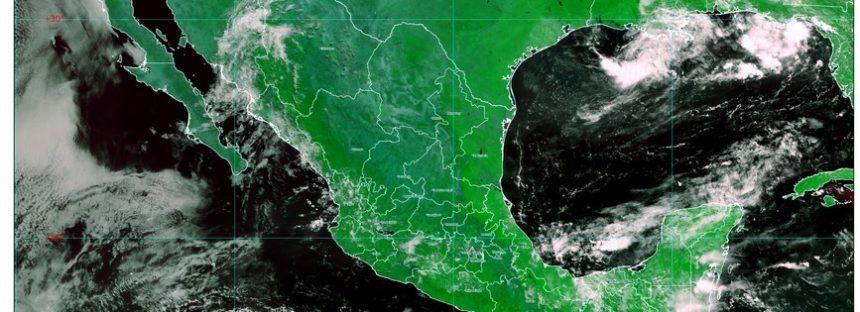 Lluvias muy fuertes en Chiapas, Chihuahua, Sinaloa y Sonora, con descargas eléctricas y granizo