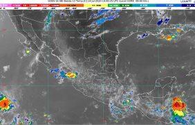 Lluvias muy fuertes en Chihuahua y Sonora; tolvaneras en Baja California, Chihuahua y Sonora
