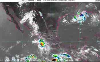 ¡Atención Sinaloa! lluvias muy fuertes hoy; también en estados del noroeste, occidente, sur y sureste de México