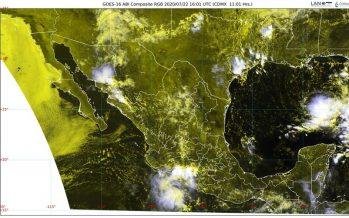 En Chihuahua, Colima, Durango, Guerrero, Jalisco, Oaxaca, Puebla, Sinaloa y Sonora lluvias muy fuertes