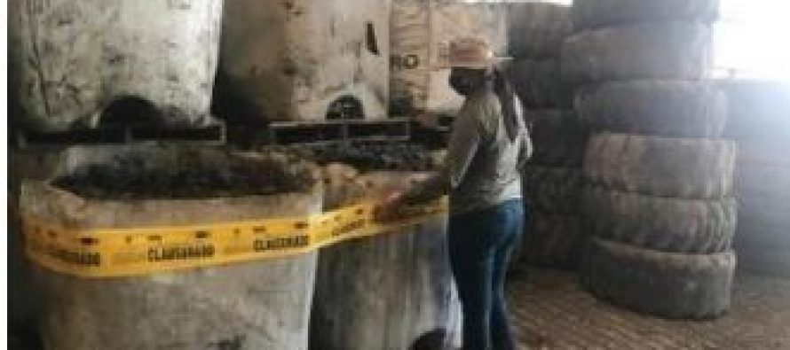 Suspenden actividades de una empresa que manejaba de manera inadecuada residuos peligrosos, en Nuevo León