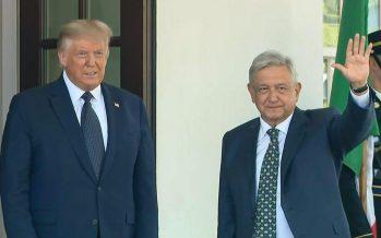 """La relación de México y Estados Unidos, basada en dignidad, respeto y confianza mutuas """"… jamás había sido tan estrecha como es hoy"""": Donald Trump"""