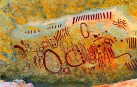 Manifestaciones gráficas rupestres en el abrigo de San Jerónimo, Zacatecas, México