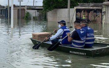 Monitorean Río Bravo para evitar inundaciones catastróficas en Tamaulipas y Texas
