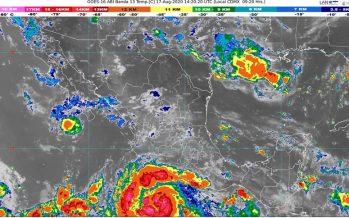 ¡Precaución! Genevieve se intensifica a Huracán categoría 1: SMN