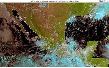 Lluvias torrenciales con descargas eléctricas y fuertes vientos para Chiapas, Oaxaca y sur de Veracruz