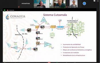 Con mejoramiento a infraestructura en Sistema Cutzamala se pretende incrementar la seguridad hídrica del Valle de México