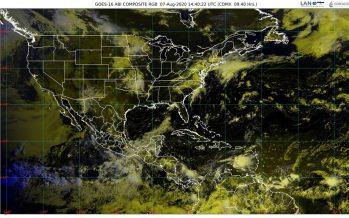 Onda tropical 25 provoca lluvias intensas en Chiapas, Guerrero, Oaxaca y Veracruz