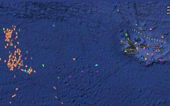 #SOSGalápagos: pretenden que la ONU detenga flota pesquera china en zona de protección de Galápagos