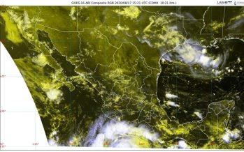 Huracán Genevieve en el Pacífico, ocasionará lluvias en Nayarit, Jalisco, Colima, Michoacán, Guerrero y Oaxaca