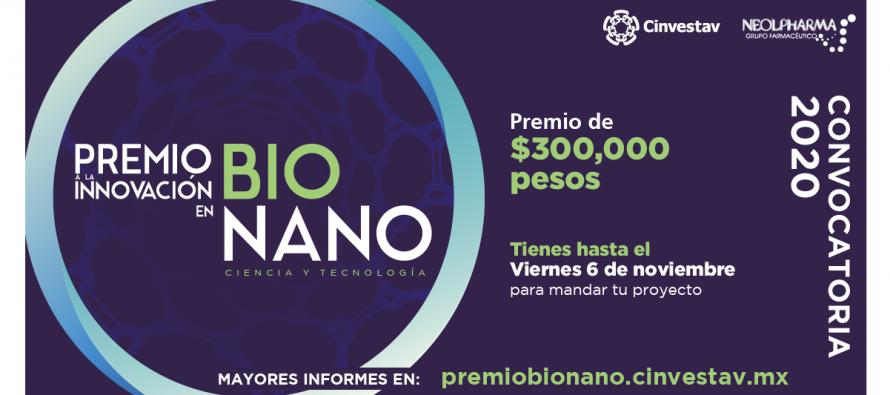 Octava edición del Premio a la Innovación en Bionano: Ciencia y Tecnología