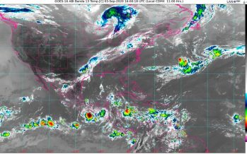 La tormenta tropical Nana provoca lluvias puntuales intensas en Campeche, Chiapas, Oaxaca, Tabasco y Veracruz