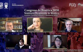 Abolir antropocentrismo, clave para la salud de La Tierra: III Congreso de Bioética Tormentas y Tormentas: Pandemia y Calentamiento Global