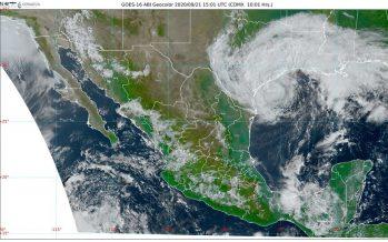 Día de lluvias en Chiapas, Tabasco, Colima, Guerrero, Jalisco, Michoacán, Morelos, Oaxaca y el sur de Veracruz; aparece Beta
