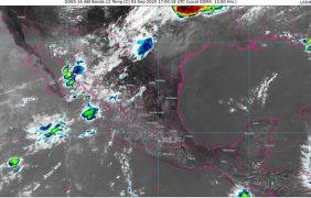 Lluvias en Chihuahua, Durango, Nayarit, Sinaloa y Sonora; temperaturas mayores a 40 °C en BC, Chihuahua, Coahuila, Nuevo León, Sonora y Tamaulipas