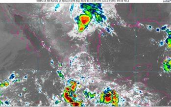 Frente Frío No. 2 ocasionará lluvias de fuertes a intensas en Chihuahua, Coahuila, Nuevo León, Sonora y Tamaulipas; 45 °C en P. de Yucatán