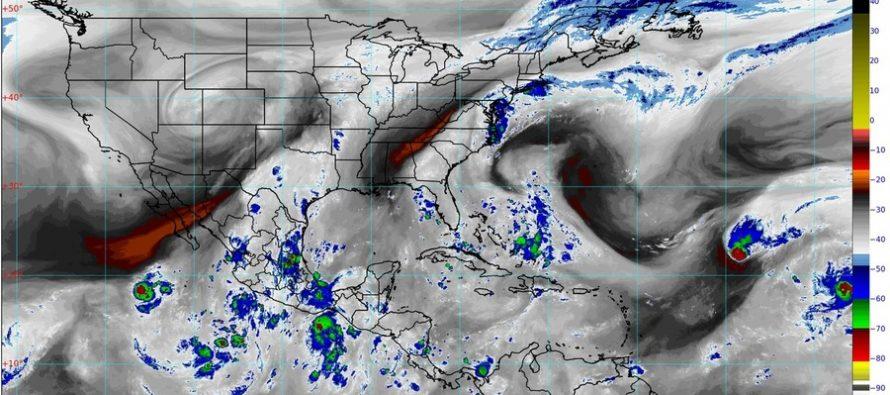 Veinte estados bajo poderosas lluvias; descenso de temperatura y niebla en Chihuahua, Coahuila, Nuevo León y Tamaulipas