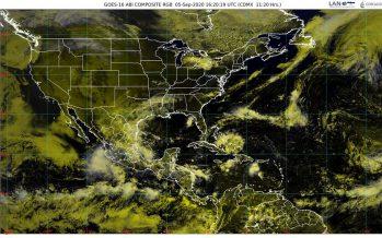 Lluvias torrenciales para Oaxaca, Puebla y Veracruz; en BC y Sonora, temperaturas de 45 a 50 °C