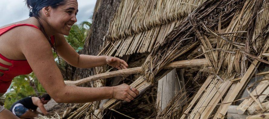 Destruidas instalaciones del Campamento Tortuguero Mayto ubicado en Cabo Corrientes por Hernan; piden apoyo