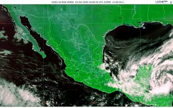 Evento de norte, lluvias extraordinarias, torrenciales e intensas, para la Península de Yucatán y el sureste de México