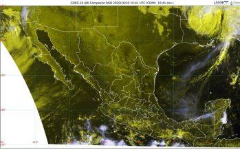 Se mantienen las lluvias fuertes en Chiapas, Guerrero y Oaxaca. Atención este día de chubascos en la CdMX