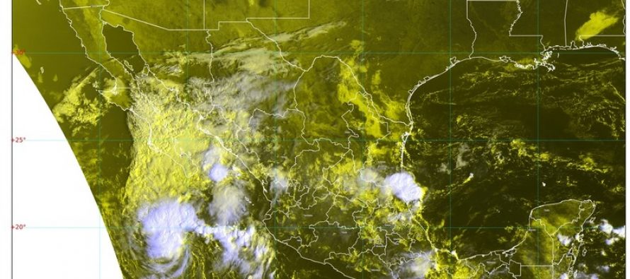 Llueve en el trópico mexicano; serán intensas en Chiapas, Oaxaca, Quintana Roo y Veracruz con rachas de viento en Tehuantepec