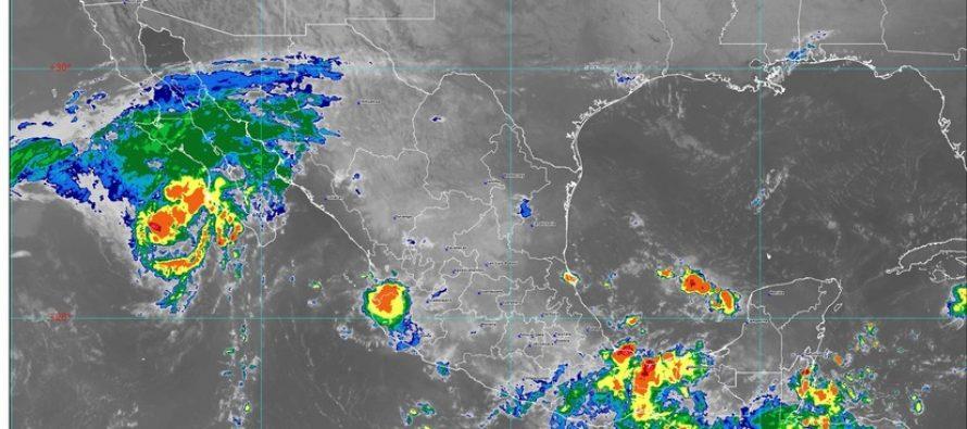 Norbert generará lluvias, viento fuerte, y oleaje elevado en BCS; siguen las lluvias en Oaxaca y Veracruz, y Chiapas