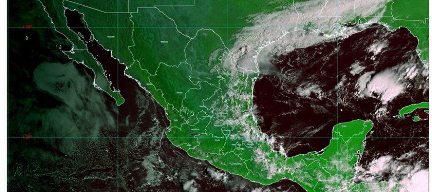 Descenso de temperatura en el norte, noreste, oriente y centro de México, por frente número 7; siguen las lluvias en México